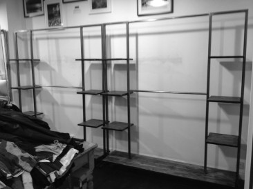 Steel Clothing Rack