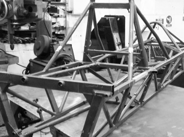 Weld repairs to chassis